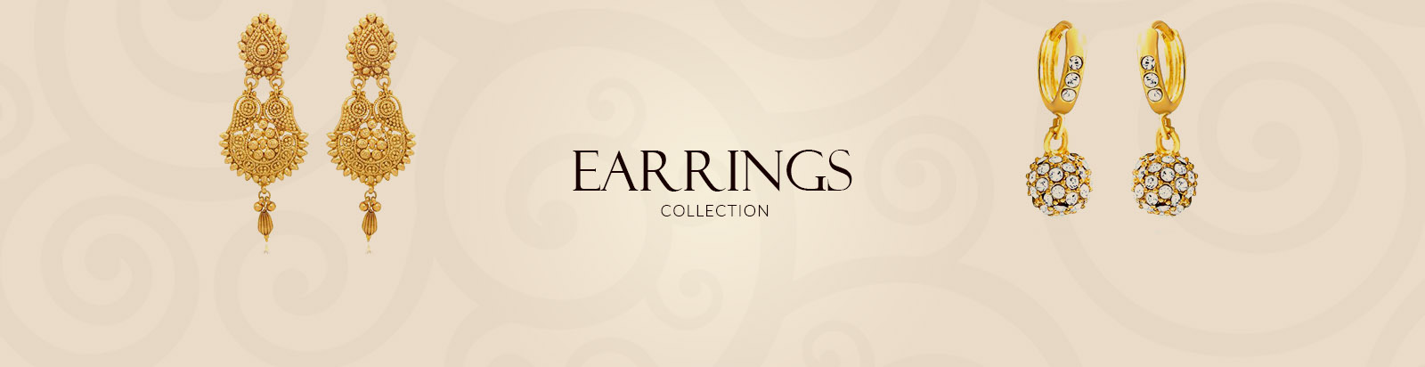 Stylish Gold Earrings for Women | Latest Design Stud Earrings