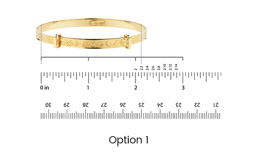 Bangle Size Chart | Bangle Diameter Measurement