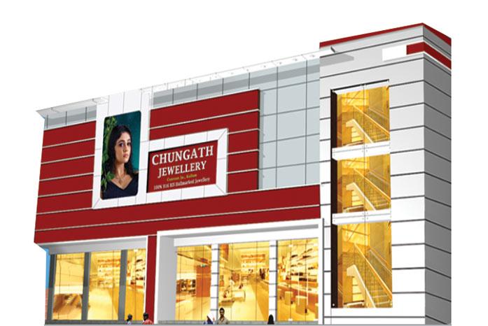 Chungath Jewellery Kollam showroom