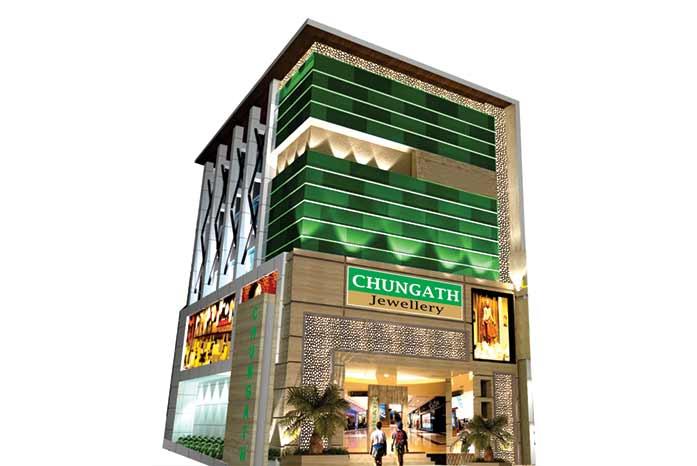 Chungath Jewellery Thiruvananthapuram showroom